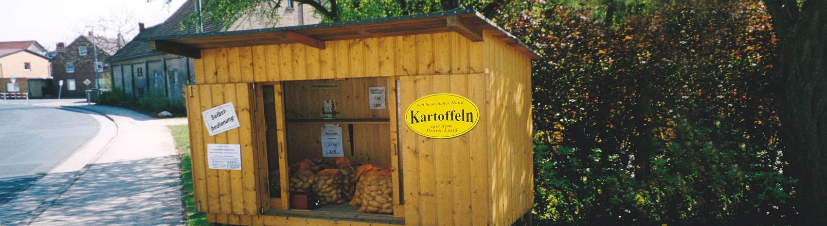 Kartoffeln Hof Behrens Dungelbeck